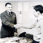 01 Steve Jessup (new recruit) and Flt Lt Alan Brooks (OC 2048) 13 July 1966